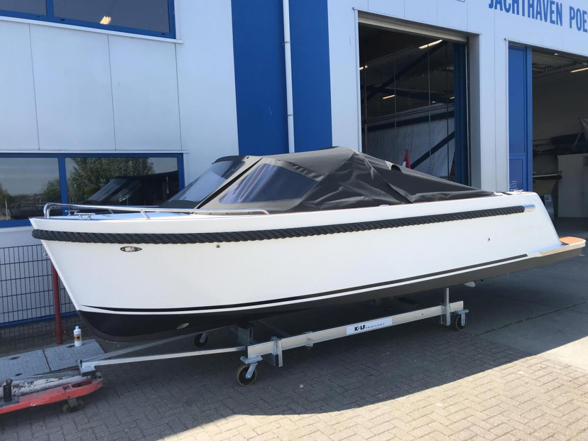 Jachthaven Poelgeest - Acties & Voorraad - Maxima 720 Retro met Honda 50 pk te koop