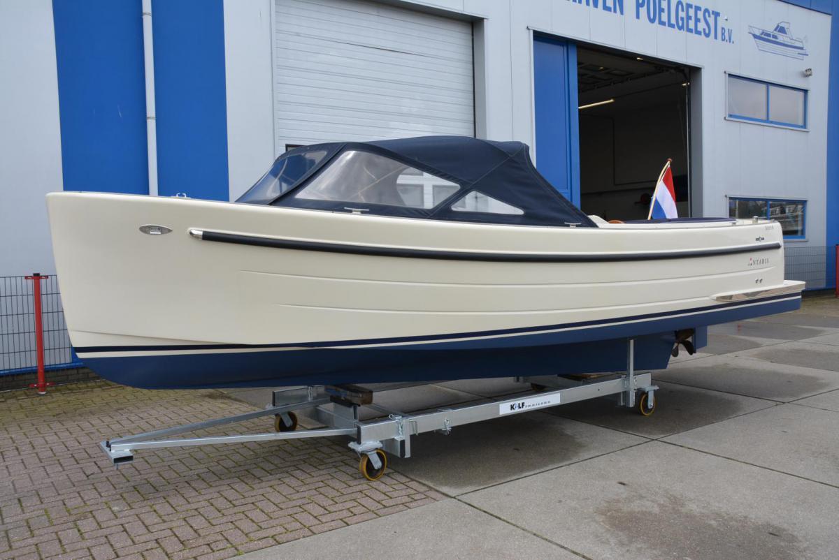 Jachthaven Poelgeest - Occasions - Antaris Sixty6 met Nanni 38 pk te koop