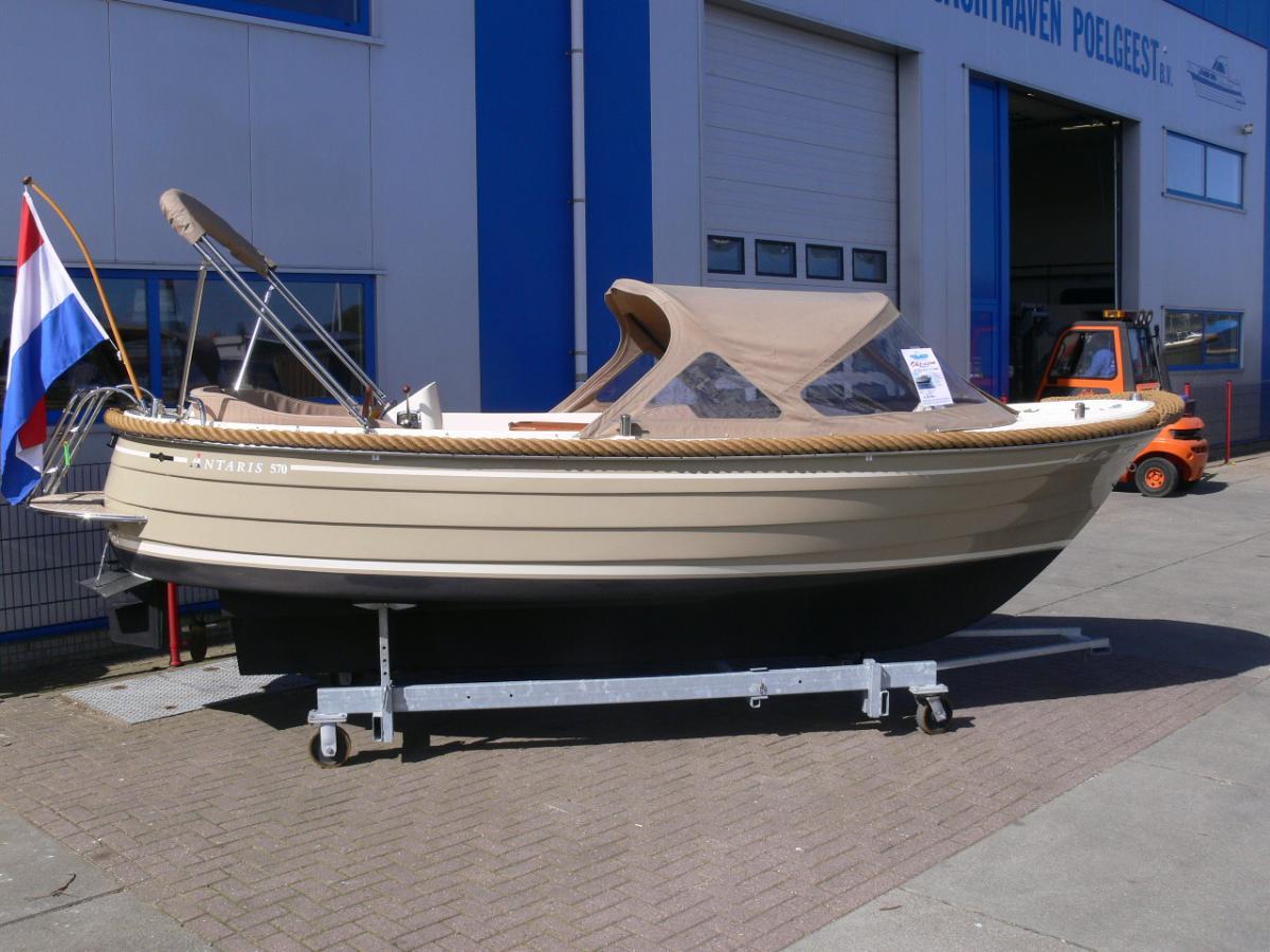 Jachthaven Poelgeest - Occasions - Antaris 570 met Vetus 28 pk te koop