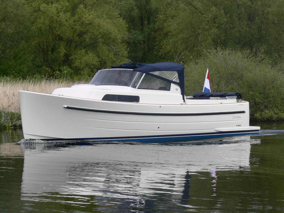 Jachthaven Poelgeest - Acties & Voorraad - Antaris Seventy7 Cabin met Vetus 52 pk 4 cilinder te koop