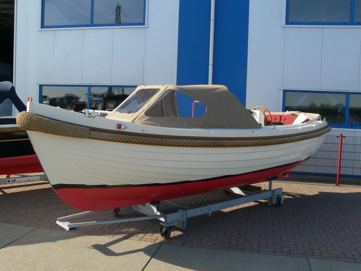 Jachthaven Poelgeest - Occasions - Interboat 21 met Vetus 33 pk te koop