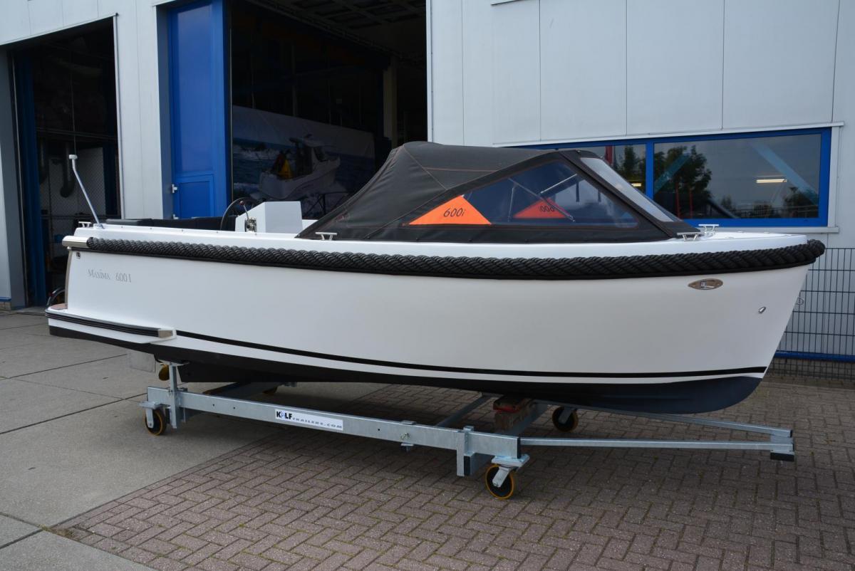 Jachthaven Poelgeest - Acties & Voorraad - Maxima 600i met Vetus 16 pk te koop