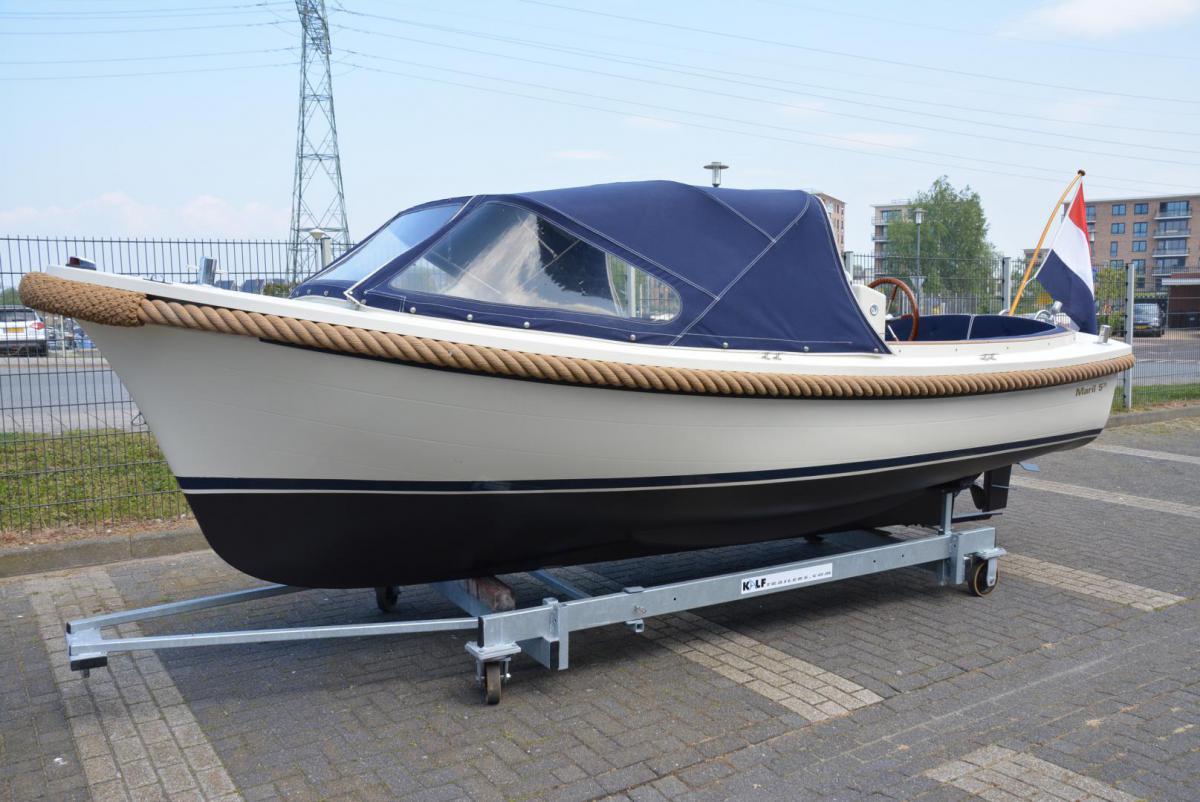 Jachthaven Poelgeest - Occasions - Maril 570 met Nanni 21 pk te koop