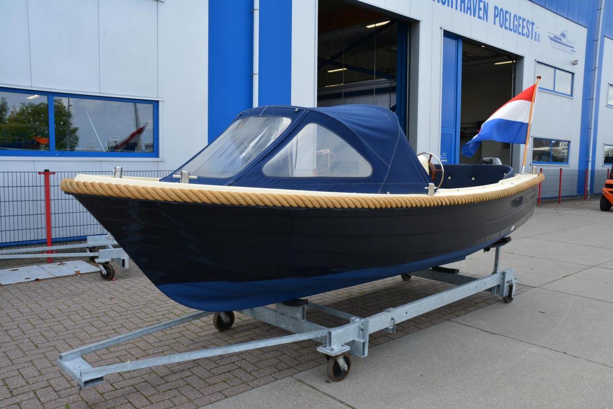 Jachthaven Poelgeest - Occasions - Adria 520 met Suzuki 9.9pk te koop