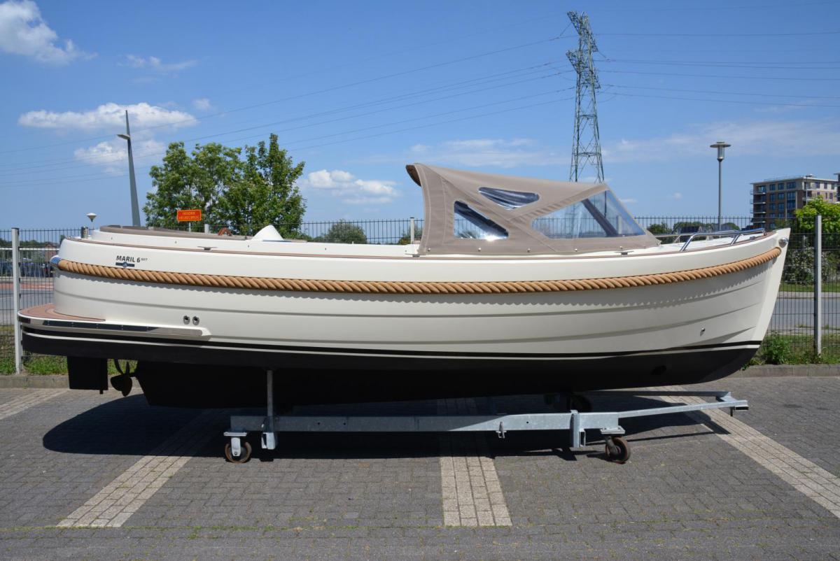 Jachthaven Poelgeest - Occasions - Maril 6Nxt met Vetus 33 pk te koop