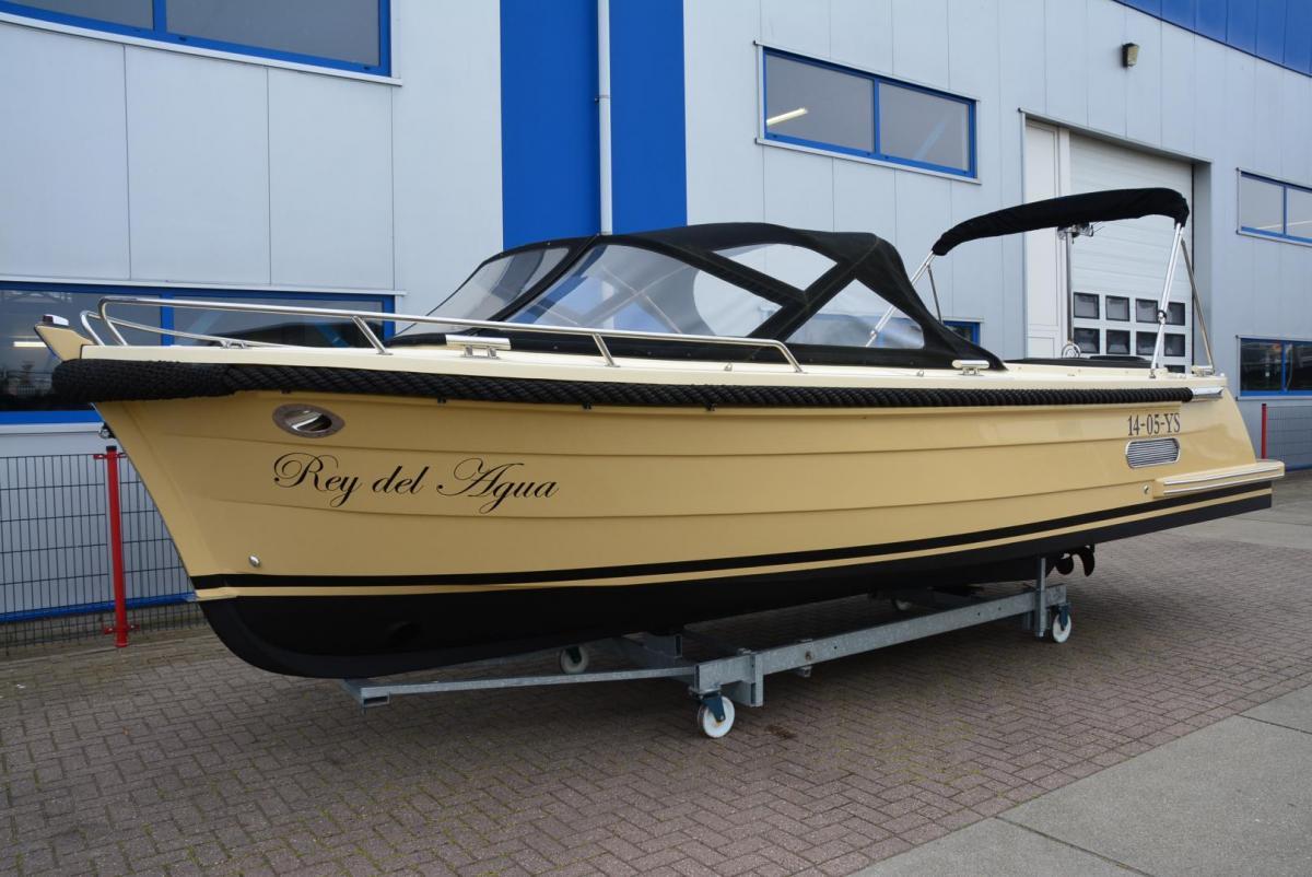 Jachthaven Poelgeest - Occasions - Antaris Connery 25 met Vetus 190 pk te koop