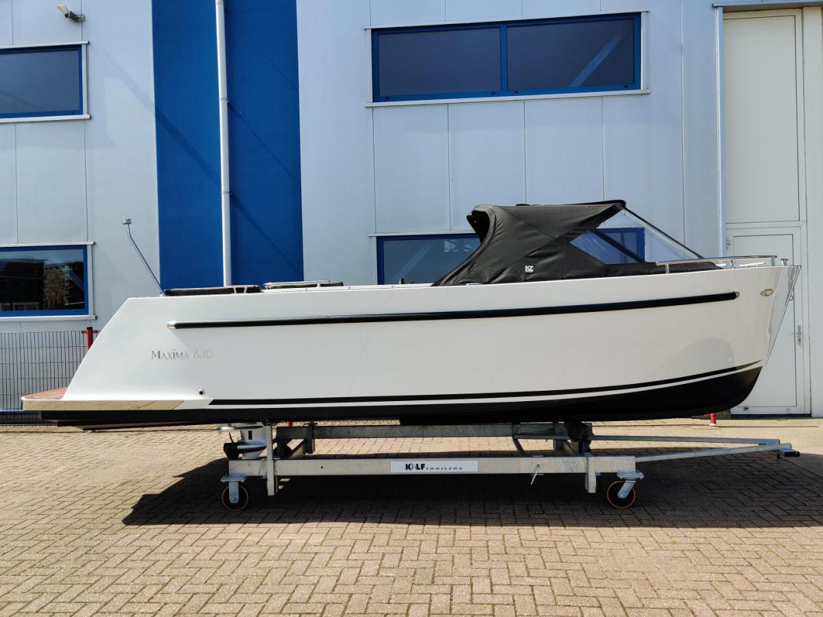 Jachthaven Poelgeest - Acties & Voorraad - Maxima 630 met Honda 30 pk te koop