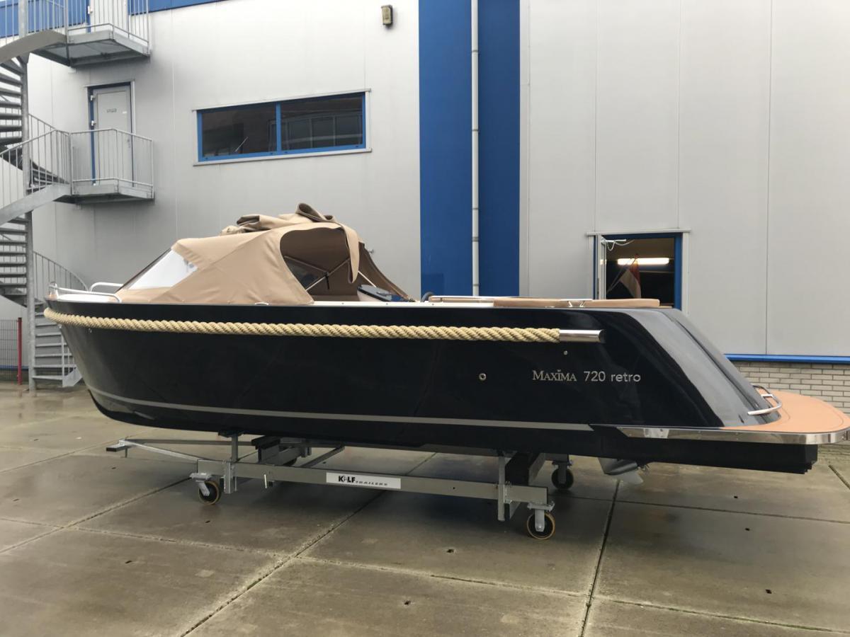 Jachthaven Poelgeest - Acties & Voorraad - Maxima 720 Retro met Honda 40 pk te koop