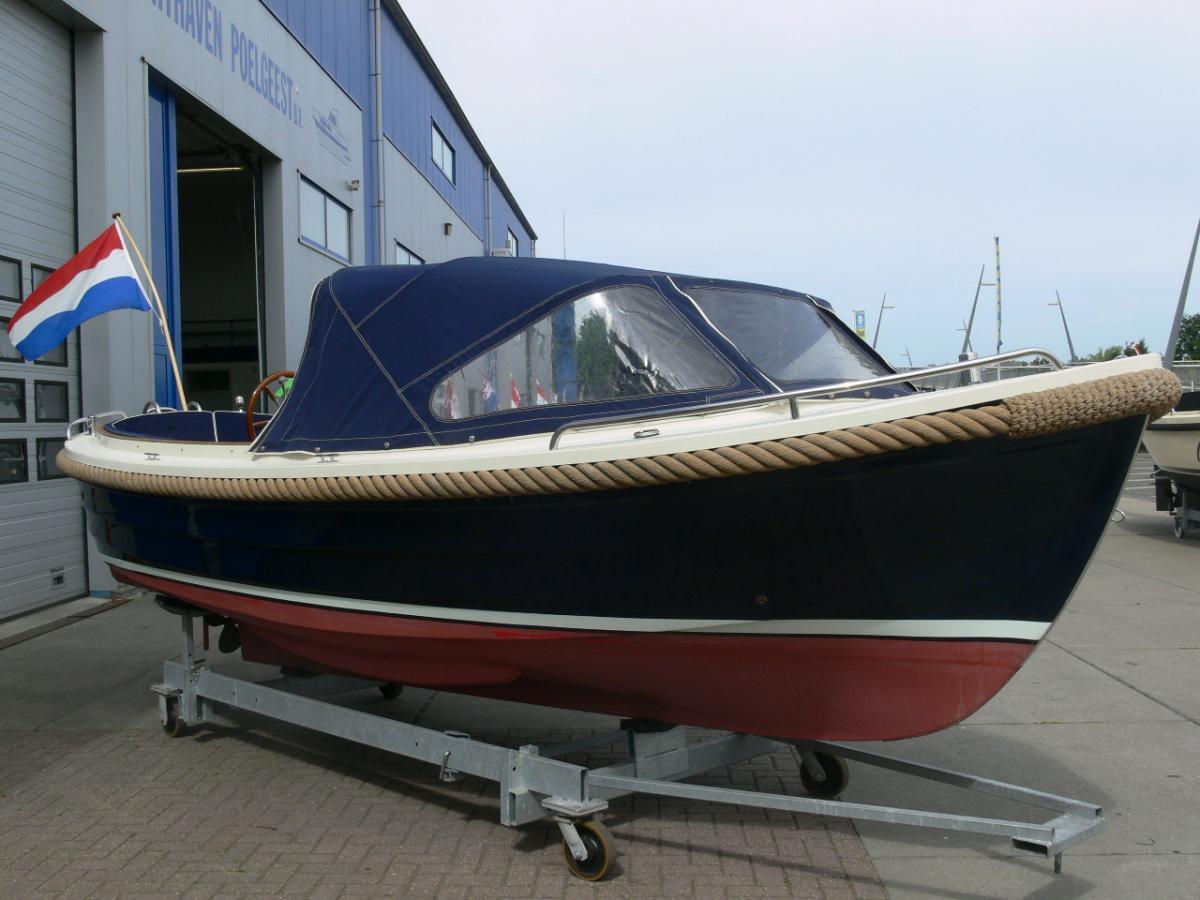 Jachthaven Poelgeest - Occasions - Maril 625 met Nanni 21 pk 3 cilinder te koop