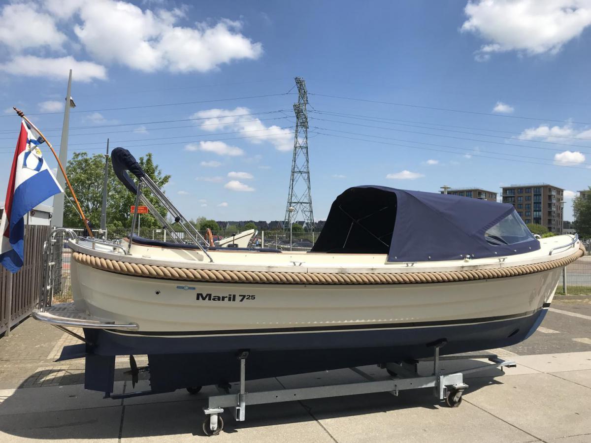 Jachthaven Poelgeest - Occasions - Maril 725 met Vetus 42 pk te koop