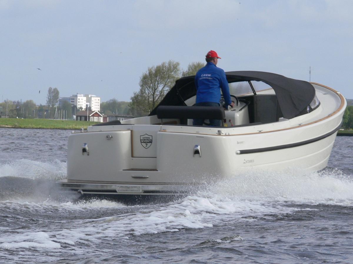 Jachthaven Poelgeest - Acties & Voorraad - Antaris Seventy7 Sport met Nanni 200 pk 4 cilinder te koop