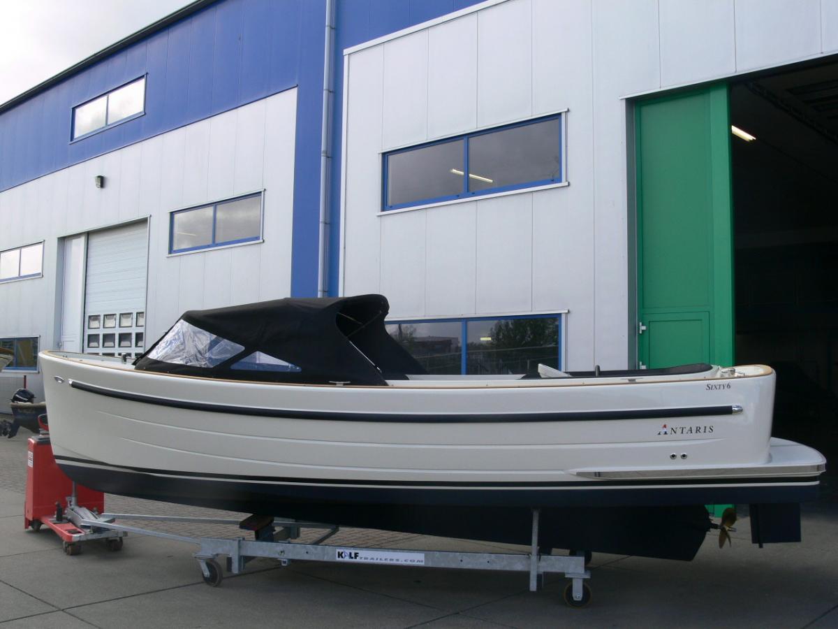 Jachthaven Poelgeest - Acties & Voorraad - Antaris Sixty6 met Nanni 38 pk 4 cilinder te koop
