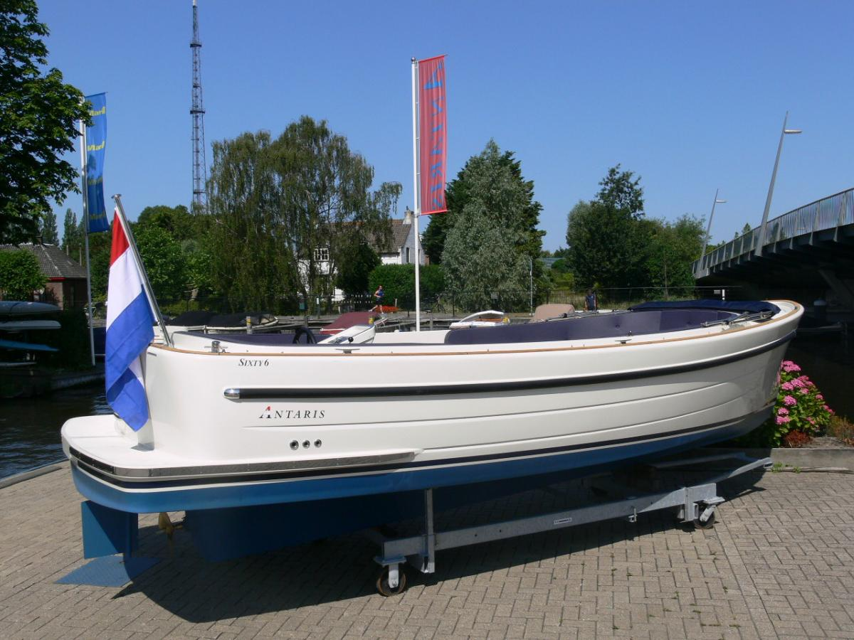 Jachthaven Poelgeest - Acties & Voorraad - Antaris Sixty6 met Nanni 21 pk 3 cilinder te koop