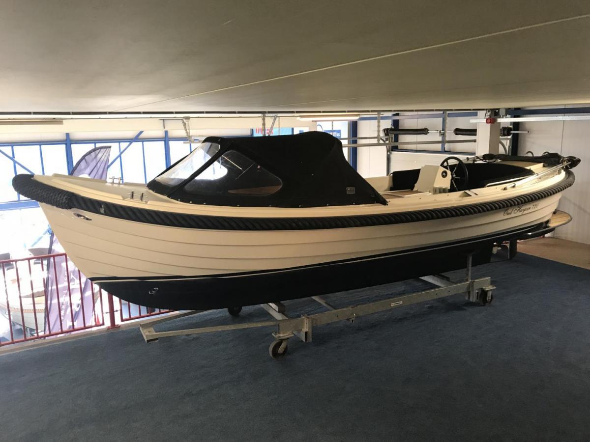 Jachthaven Poelgeest - Occasions - Oud Huijzer 720 met Vetus 27 pk te koop